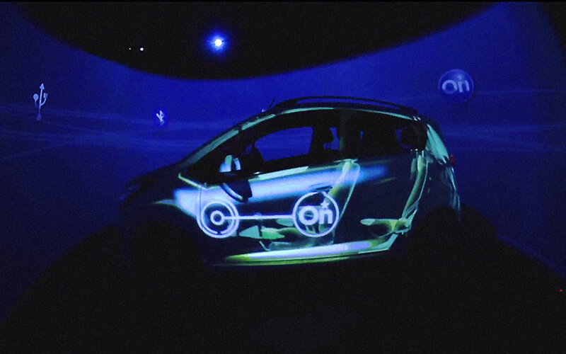 Chevrolet Osheaga Projection Mapping